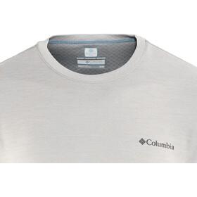 Columbia M's Zero Rules SS Shirt columbia grey heather